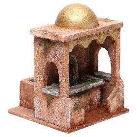Electric fountain for Nativity scene 20x15x15 cm s4