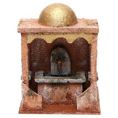 Electric fountain for Nativity scene 20x15x15 cm 1