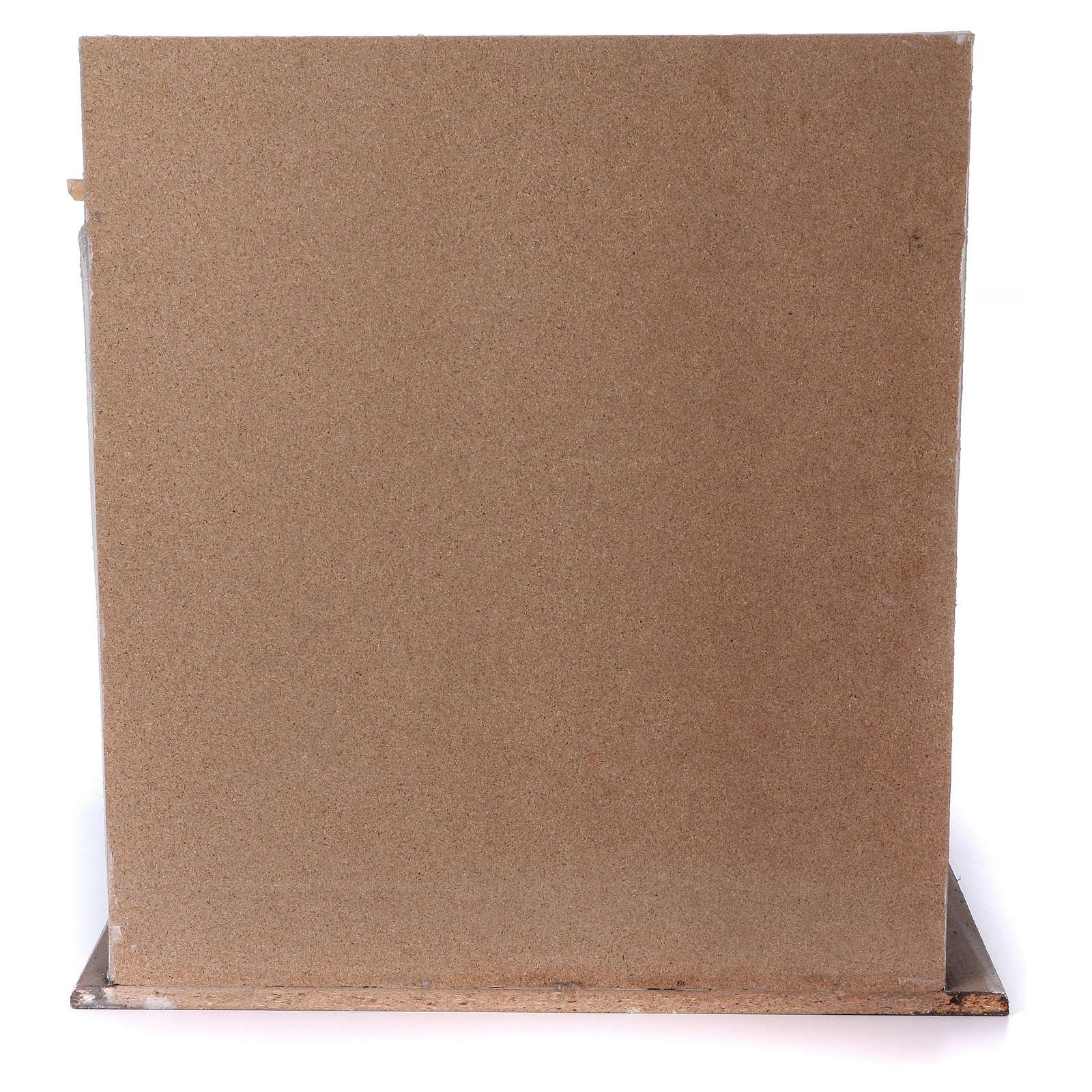 Étable en bois pour crèche 30-40 cm 4