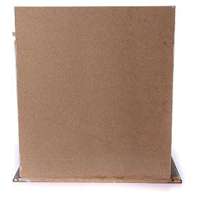 Étable en bois pour crèche 30-40 cm s5