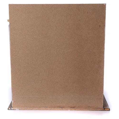 Étable en bois pour crèche 30-40 cm 5