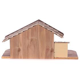 Étable modèle Osser en bois pour santons 11-13 cm s6