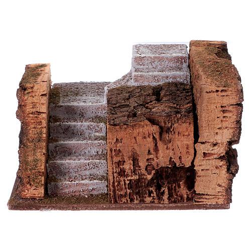 Escalier pour figurines crèche 10 cm 9x15x10 cm 1