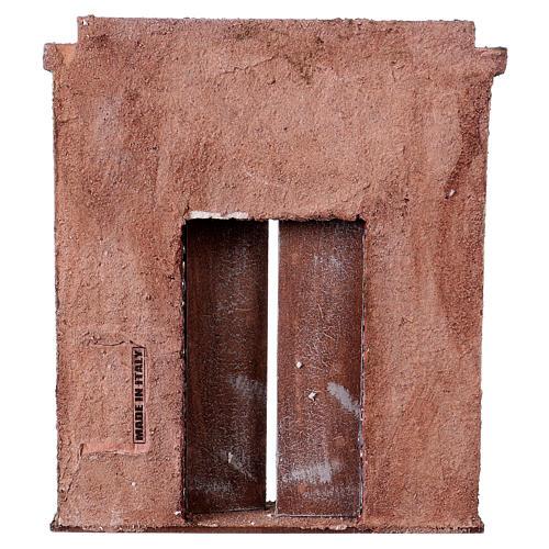 Facciata con porta centrale per statue da 12 cm 3