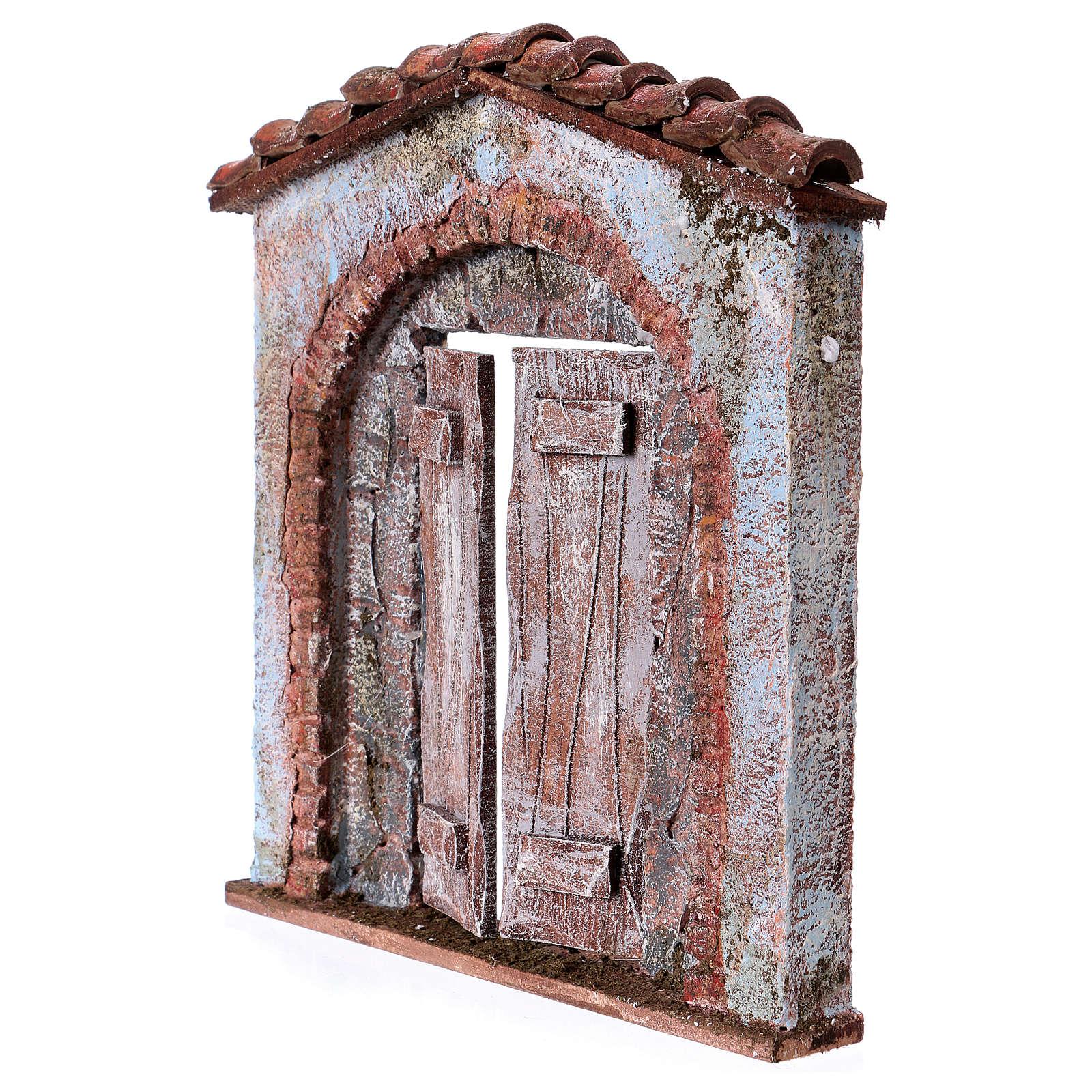 Arco Per Porta facciata arco porta centrale per statue da 12 cm