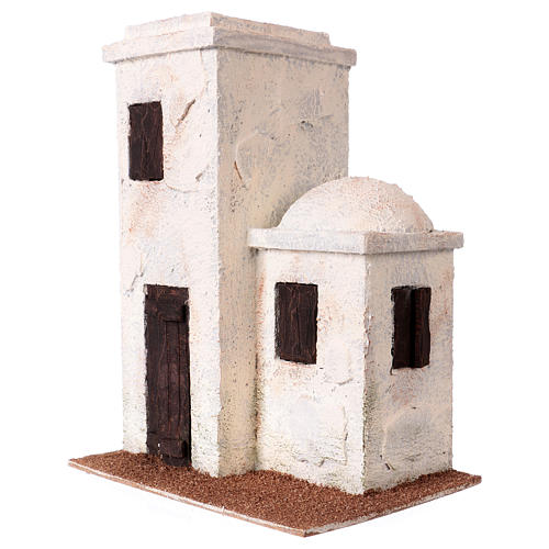 Arabischer Styl Haus für Krippe 8cm 27x20x15cm 2