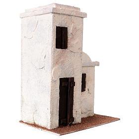 Maisonnette style palestinien 25x20x15 cm pour crèches de 9 cm s3