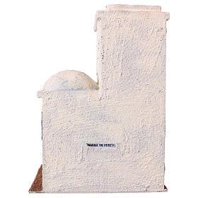 Casetta stile palestinese 25x20x15 per presepi di 9 cm s4