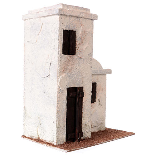 House Palestinian style 25x20x15 cm, for 9 cm nativity 3