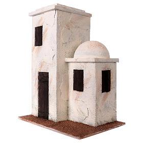 Casetta stile palestinese 30x25x15 per presepi di 10 cm s2