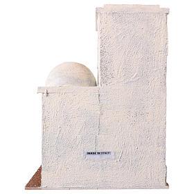 Casetta stile palestinese 30x25x15 per presepi di 10 cm s4