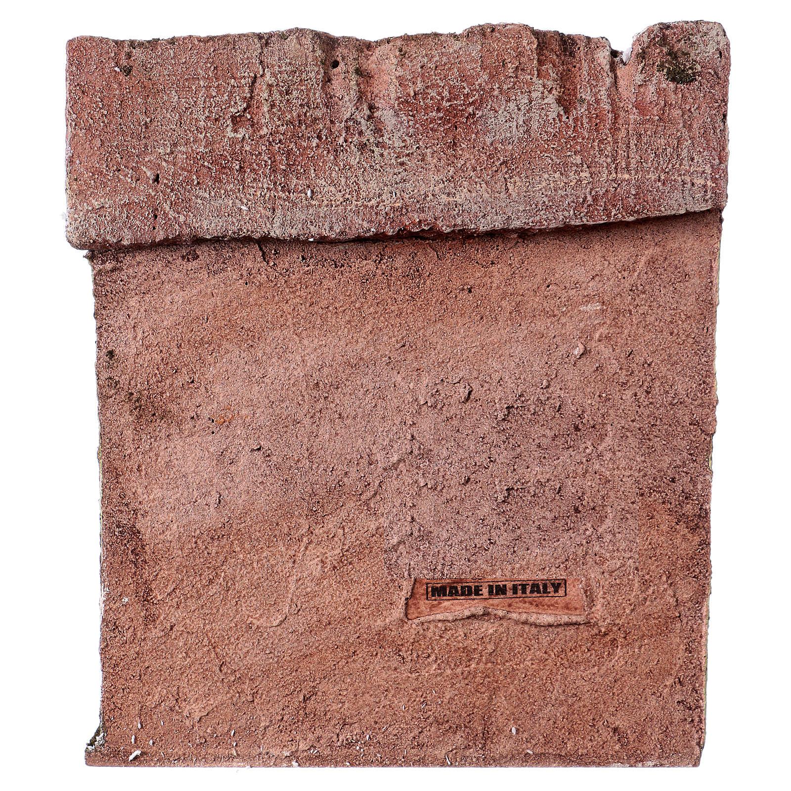 Pescivendolo casetta per statue 10-11 cm 20x17x14,5 cm  4