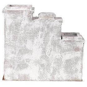 Casa araba con 3 ingressi 25x30x20 cm per presepi di 9 cm s4