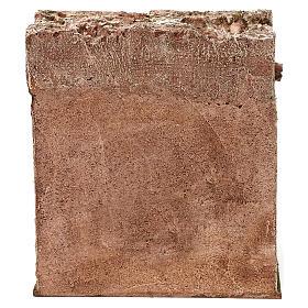 Osteria presepe 10 cm ambientazione 20x20x15 cm s4