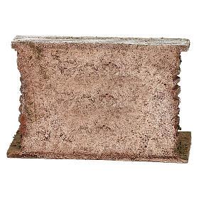 Botti adagiate al muro presepe 12 cm ambientazione 10x15x5 cm s4