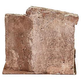 Lavanderia presepe 10 cm ambientazione 20x20x15 cm s4