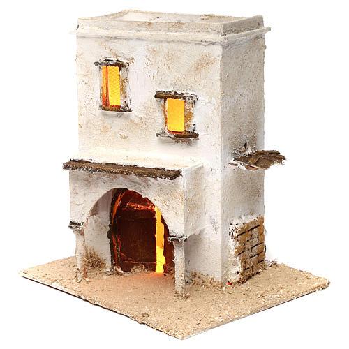 Casa araba a due piani con porticato 25x25x20 2