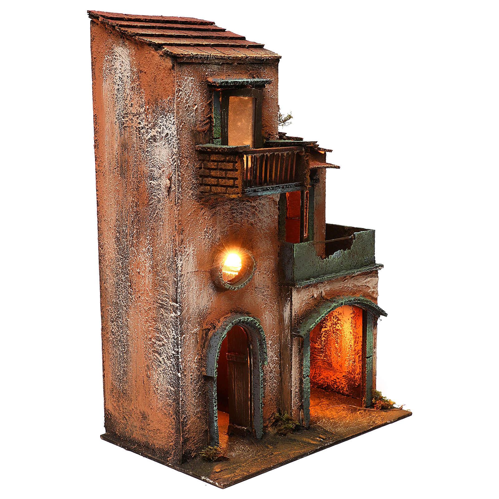 Caseggiato in legno 45x30x20 4