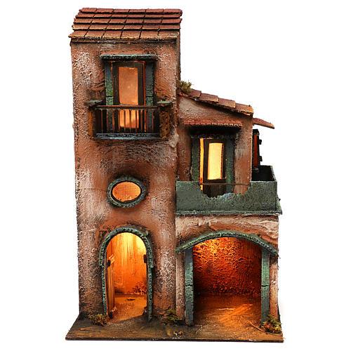 Caseggiato in legno 45x30x20 1