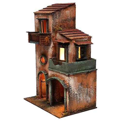 Caseggiato in legno 45x30x20 2