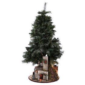 Presépio-Árvore de Natal 150 cm para figuras do presépio napolitano de altura média 8 cm s5
