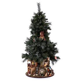 Presépio-Árvore de Natal 150 cm figuras altura média 8 cm Presépio Napolitano s5