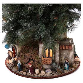 Presépio-Árvore de Natal 150 cm figuras altura média 8 cm Presépio Napolitano s7