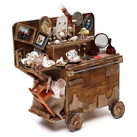 Neapolitan Nativity scene, secondhand dealer cart 18-22 cm s4