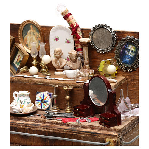 Neapolitan Nativity scene, secondhand dealer cart 18-22 cm 3