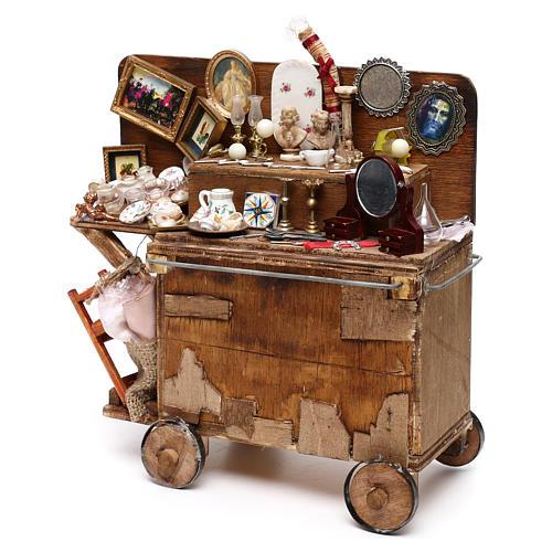 Neapolitan Nativity scene, secondhand dealer cart 18-22 cm 5