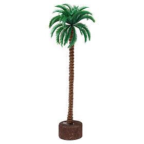Grafted palm tree figurine 20 cm, for 10-11 cm nativity s1