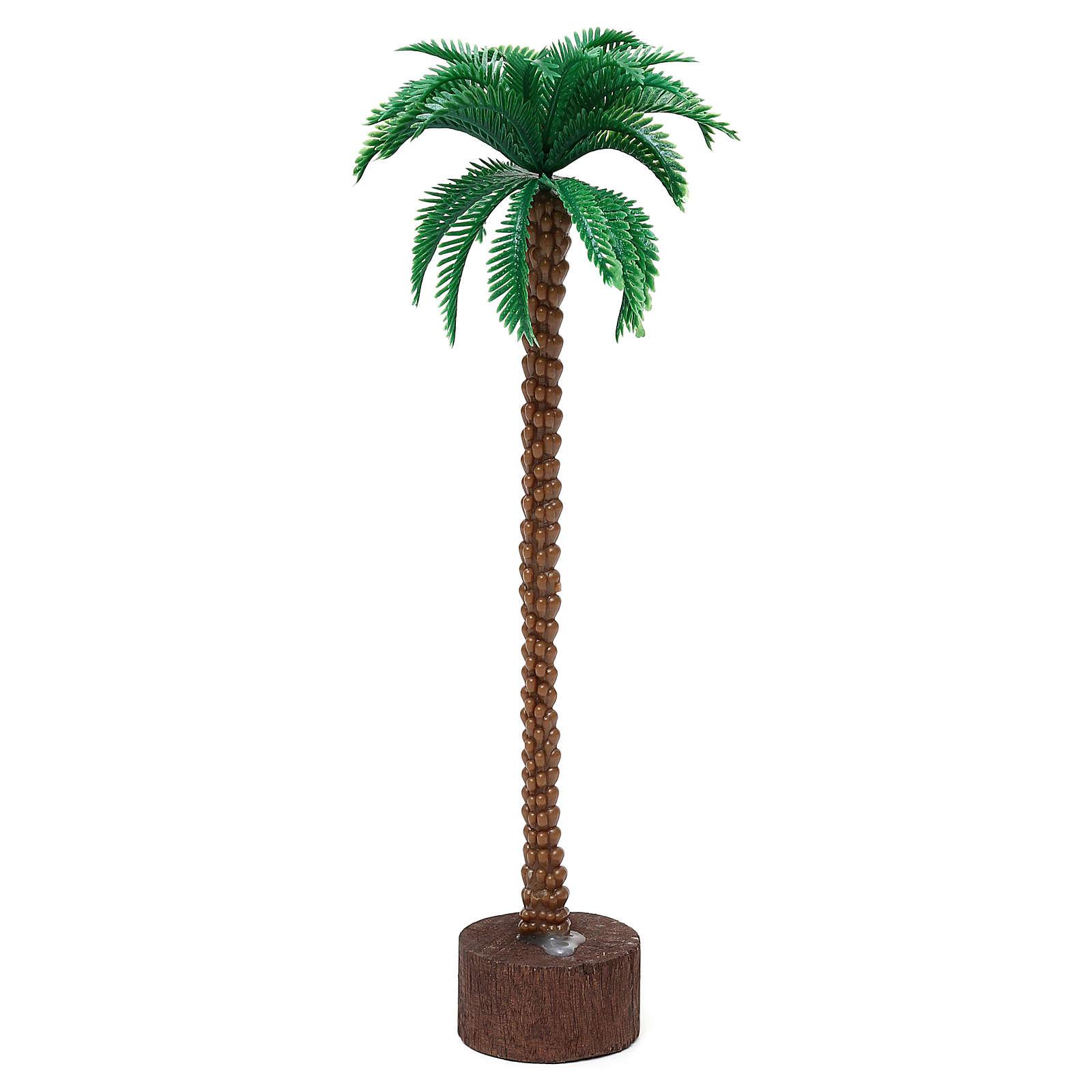 Palma base ad innesto 20 cm per presepe 10-11 cm 4