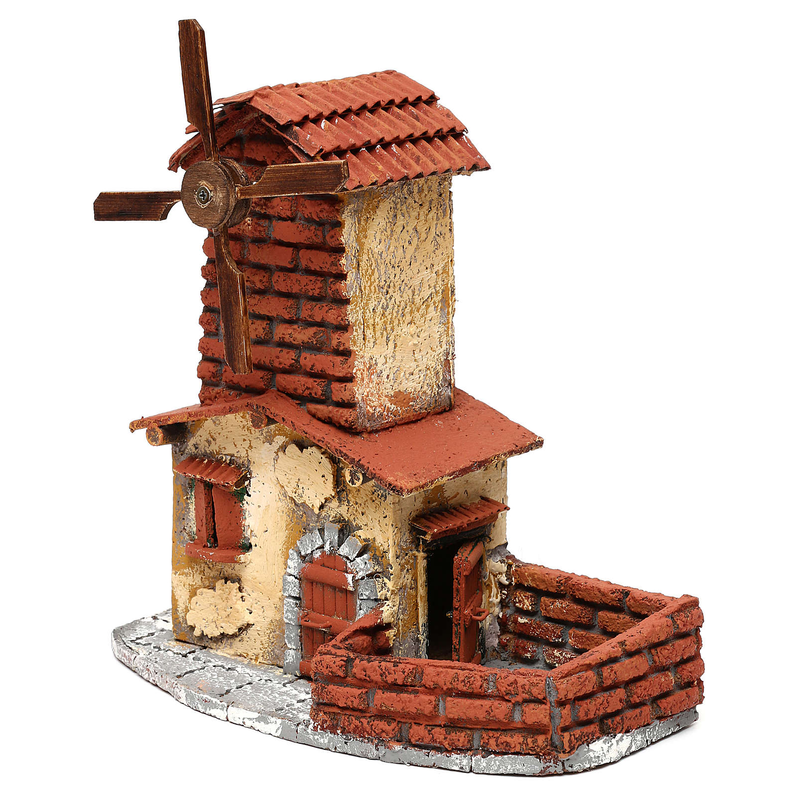 Windmill for Neapolitan Nativity Scene 4 cm 4