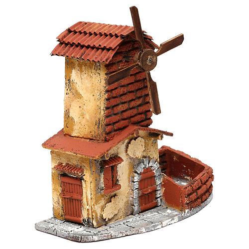 Windmill for Neapolitan Nativity Scene 4 cm 3