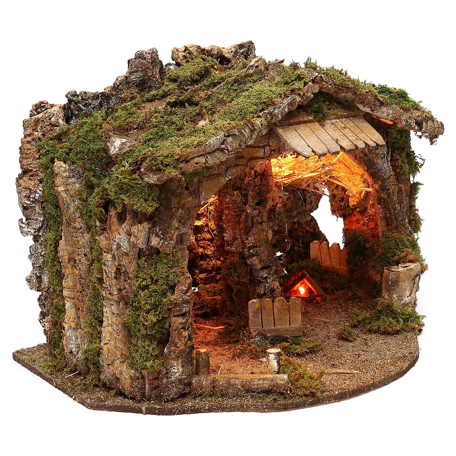 Grotte avec miroir effet profondeur 35x55x35 cm 4