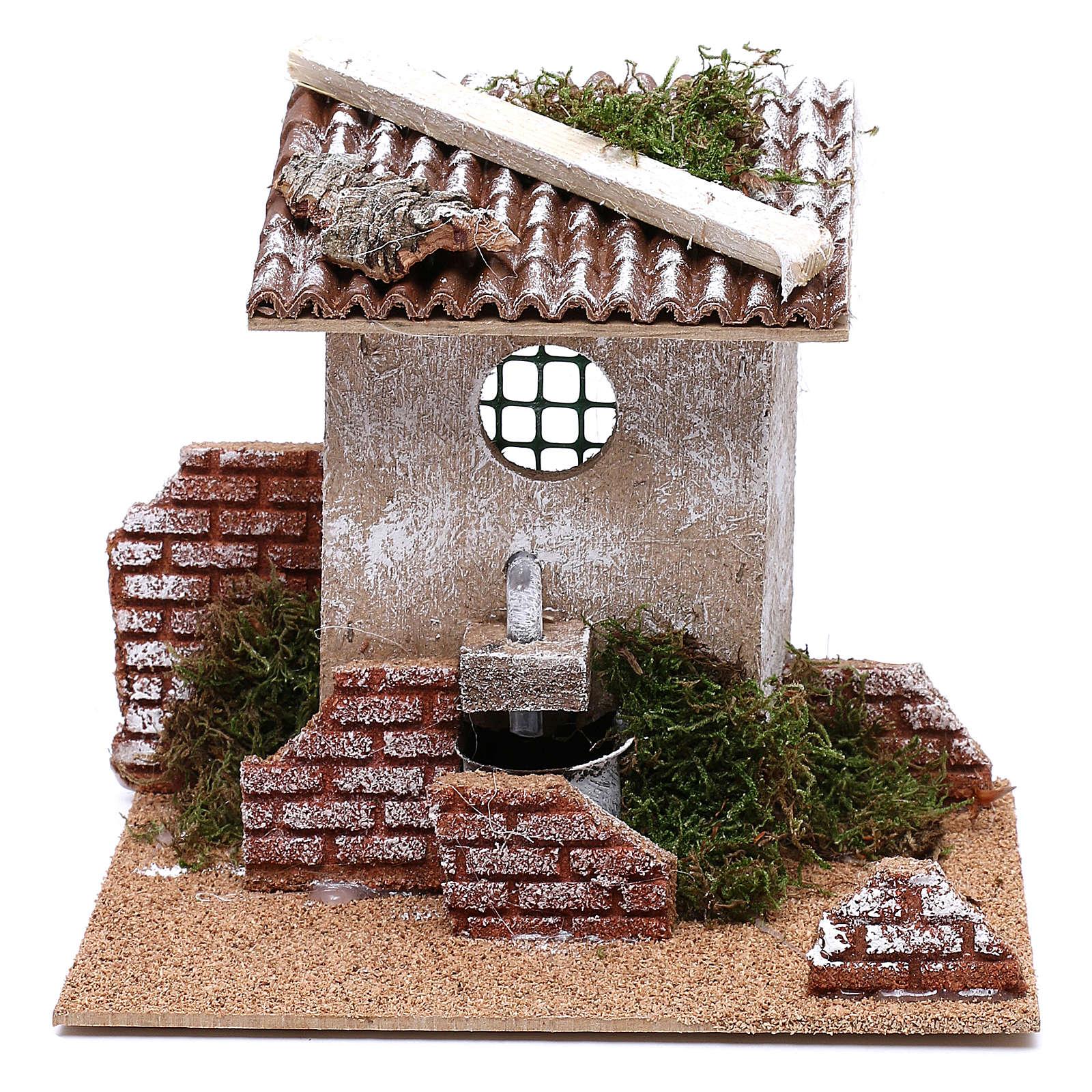 Fountain for Nativity scene for 8 cm figurines 4