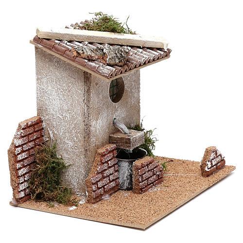 Fountain for Nativity scene for 8 cm figurines 3
