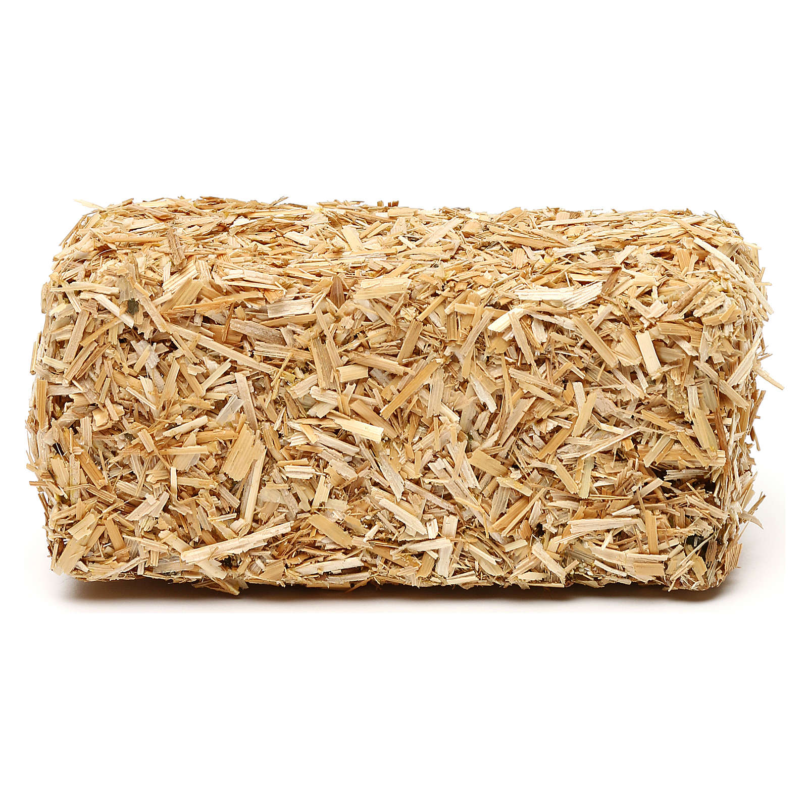 Paca de heno rectangular 4x10x5 cm para belenes de 19 cm 4