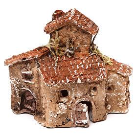 Miniature village 10x10x5 cm for 3-4 cm Neapolitan nativity s1