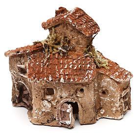 Miniature village 10x10x5 cm for 3-4 cm Neapolitan nativity s2
