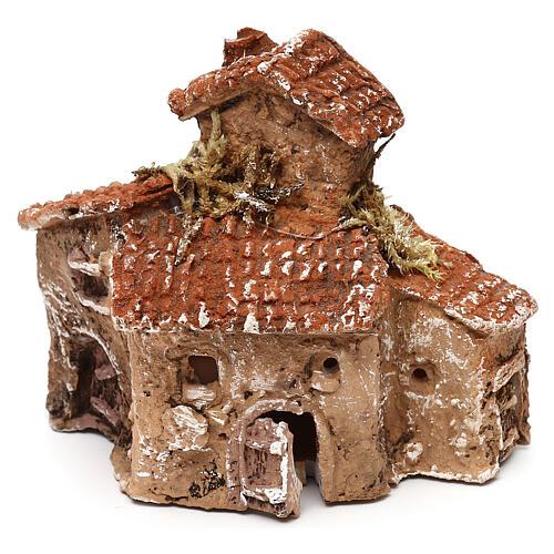 Miniature village 10x10x5 cm for 3-4 cm Neapolitan nativity 2