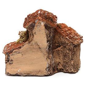 Pueblo 10x10x5 cm belén napolitano 3-4 cm s4
