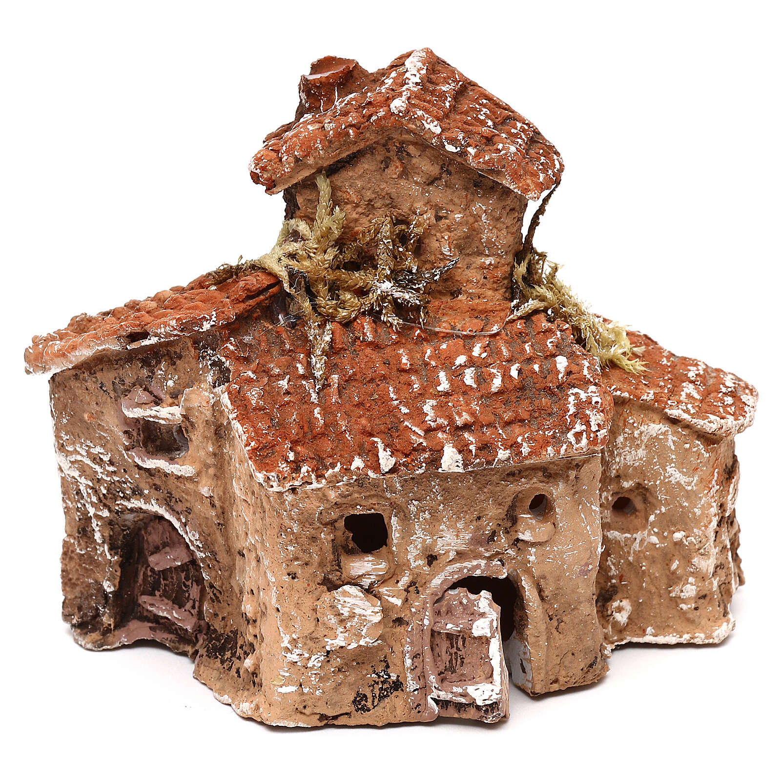 Miniature village 10x10x5 cm for 3-4 cm Neapolitan nativity 4
