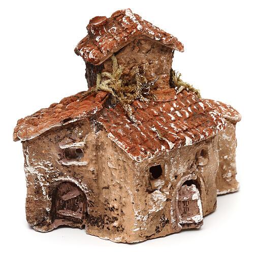 Miniature village 10x10x5 cm for 3-4 cm Neapolitan nativity 3