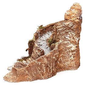 Arroyo y fuente que funcionan 25x25x35 cm belén napolitano 10 cm s2