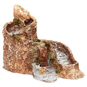 Arroyo y fuente que funcionan 25x25x35 cm belén napolitano 10 cm s3