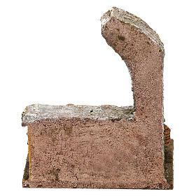 Arcata con ceste verdura presepi 10 cm 10x10x10 cm s4