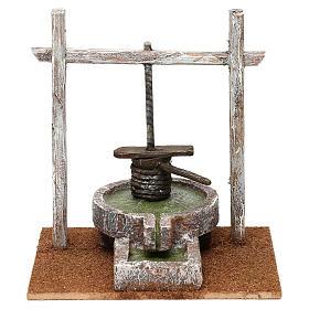 Resin press for Nativity scene 12 cm 20x20x15 cm s1