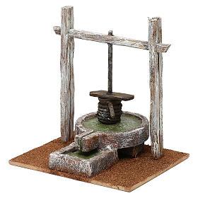 Resin press for Nativity scene 12 cm 20x20x15 cm s2