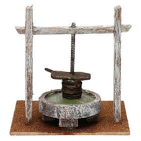 Resin press for Nativity scene 12 cm 20x20x15 cm s4